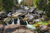 Waterfall in Tatra mountain, Slovakia - Studenovodsky — Stock Photo