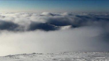 Winter mountain landscape — Stock Video