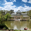 Stock Photo: Cristal palace in Retiro Park