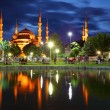 Blue mosque in Istanbul — Stock Photo #22895738