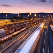 Trains and Railways - Foto Stock
