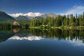 Beautiful Lake in High Tatras — Stock Photo
