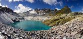 Lago en suiza — Foto de Stock