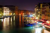 Benátky od ponte di rialto — Stock fotografie