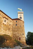 Ljubljana castle — Stock Photo
