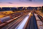 Trains and Railways — Stock Photo