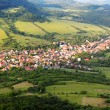 Stock Photo: Slovakia countryside - Summer mountain panorama - Nice village O
