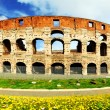 Rome, Colosseum - Stock Photo
