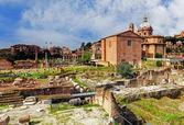 Rome - Ruins Foro Romano — Stock Photo