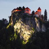 Castillo medieval de bled, eslovenia — Foto de Stock