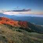Donovaly (Ski resort) village form peak Zvolen - Slovakia mounta — Stock Photo #23987783