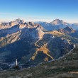 Mountain at summer - top of Lagazuoi, Dolomites, Italy — Stock Photo #23987849