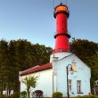Lighthouse in Poland — Stock Photo