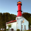 Lighthouse in Poland - 图库照片