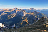 Mountain at summer - top of Lagazuoi, Dolomites, Italy — Foto Stock