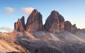 Italy Alps moutnain - Tre Cime di Lavaredo — Stock Photo