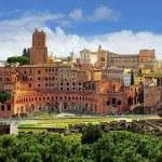 Rome - Foro Traiano — Stock Photo