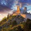 Ruin of castle Cachtice - Slovakia — Stock Photo #24691863
