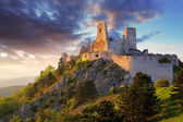Ruin of castle Cachtice - Slovakia — Stock Photo