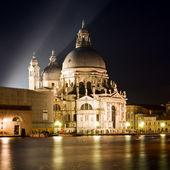 на базилику санта мария делла салюте - венеция — Стоковое фото