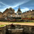 Historical spa near Madrid La Granja de San Ildefonso Segovia Province — Stock Photo