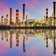 Oil Industry - refinery plant — Stock Photo