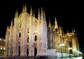 Cattedrale duomo di milano — Foto Stock