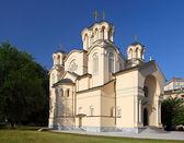 Igreja Ortodoxa em ljubljana, Eslovénia — Fotografia Stock