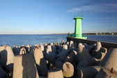 Puerto de wladyslawowo — Foto de Stock