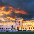 Vienna Hofburg palace — Stock Photo #27291551