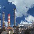 Stock Photo: Gas refinery at day
