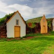 Old traditional Icelandic farm - Glaumber — Stock Photo