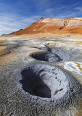 Iceland, Volcanic landscape Namafjall — Stock Photo
