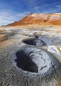 Iceland, Volcanic landscape Namafjall — Stock Photo