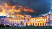 Vienna Hofburg palace — Stock Photo