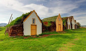 Ancienne ferme islandaise traditionnelle - glaumber — Photo