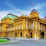 Zagreb - Croatian National Theate — Stock Photo #27698125