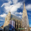 St. Stephan cathedral in Vienna, Austria — Stock Photo #27698209