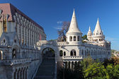 Hungary, Budapest, Fisherman's Bastion — Stock Photo