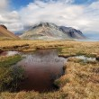 South east Iceland mountain with water — Stock Photo #28614305