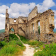 Stock Photo: Ruin of castle - Povazsky hrad, Slovakia