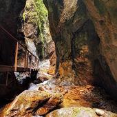Canyon in janosikove diery - Slovakia — Stock Photo