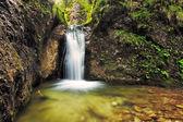 Waterfalls janosikove diery in Slovakia — Stock Photo