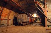 Historical gold, silver, copper mine — Stock Photo