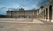 Royal Palace in Madrid, Spain Europe — Stockfoto