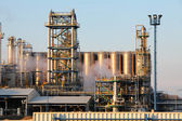 Oil refinery in the day — Stock Photo