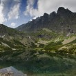 Mountains panorama - Slovakia Tatras — Stock Photo