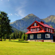 Chalet in Mountain — Stock Photo