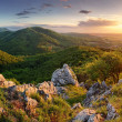 Peak in sunset - Slovakia mountain — Stock Photo