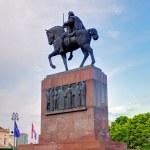 Statue of King Tomislav, Zagreb, Croatia — Stock Photo #30748087